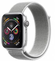 Часы Apple Watch Series 4 GPS 40mm Aluminum Case with Sport Loop (Серебристый/Серая ракушка)